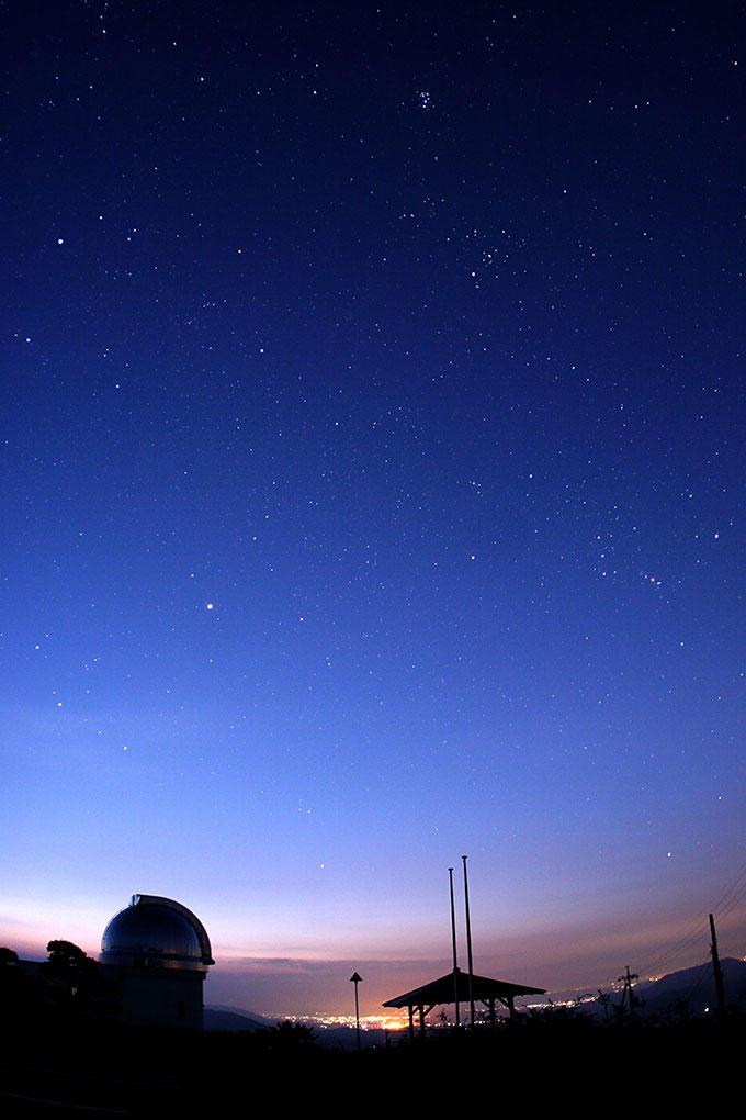 薄明時の星空公園